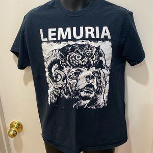 """Lemuria band """"Ram Owl"""" band tee"""